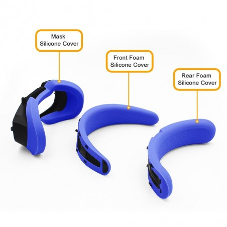 Silicone protection set Oculus Rift S (Blue)