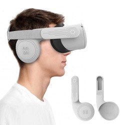 Silicone Ear Muffs for Oculus Quest 2 (Enhanced Sound)